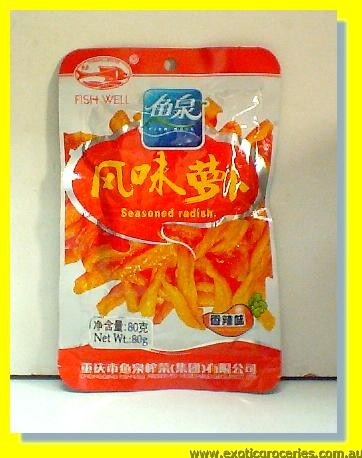 Seasoned Radish Spicy Fragrant Flavor