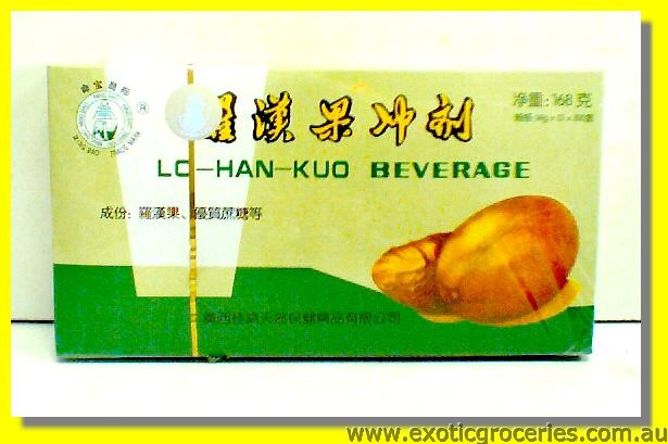 Luo Han Guo and Coffee Beverage