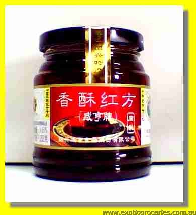 Preserved Red Beancurd Original