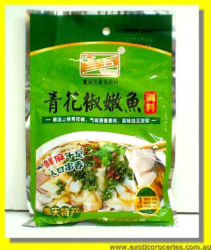 Green Szechuan Pepper Fish Hot Pot Seasoning