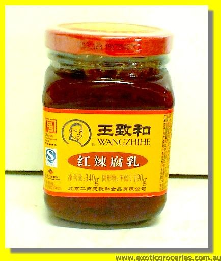Fermented Red Chilli Bean Curd