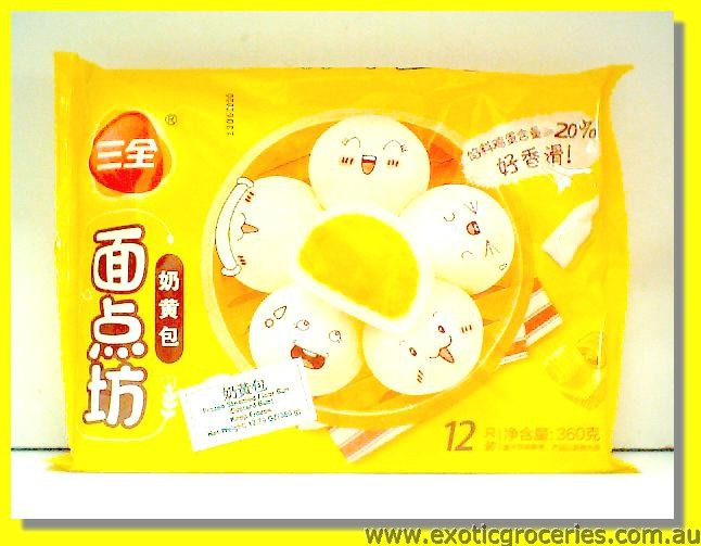 Frozen Custard Buns 12pcs