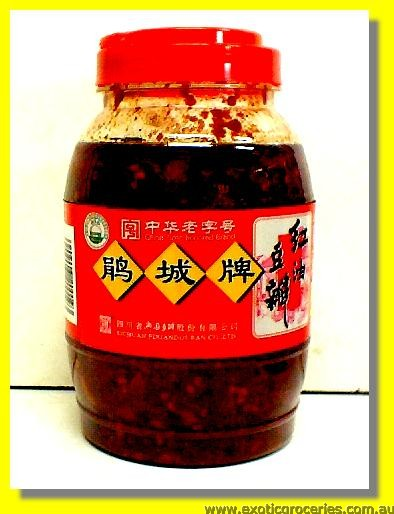 Bean Sauce in Chilli Oil