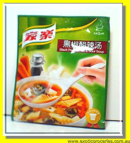 Black Pepper Hot & Sour Soup