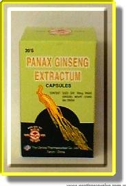 Panax Ginseng Extractum Capsules 30's