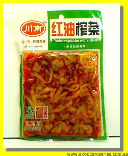 Pickled Vegetables with Chilli Oil