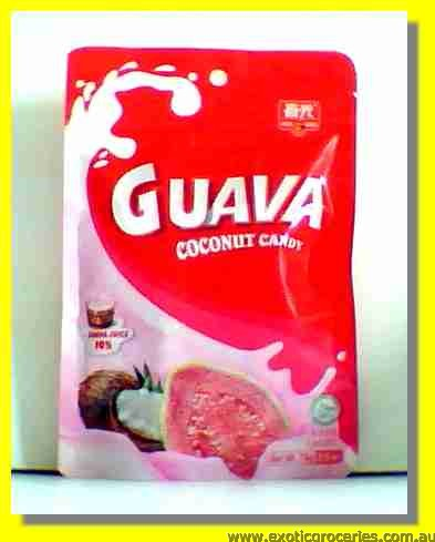 Guava Coconut Candy