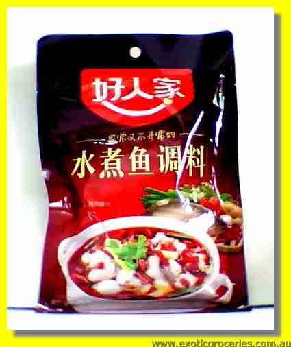 Hot & Spicy Boiled Fish Seasoning