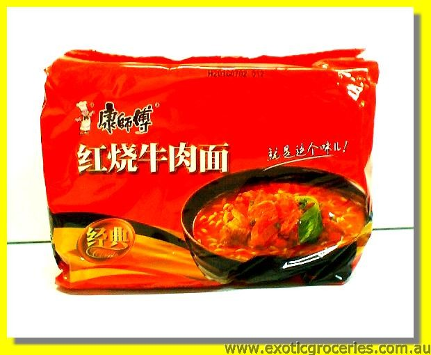 Instant Noodle Roasted Beef Flavour 5pkts