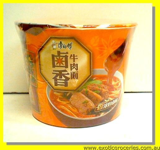 Instant Bowl Noodle Pickled Beef Flavour