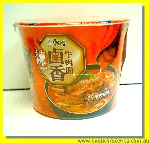 Instant Bowl Noodle Spicy Pickled Beef Flavour