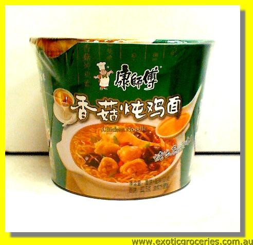 Instant Bowl Noodle Chicken & Mushroom Flavour
