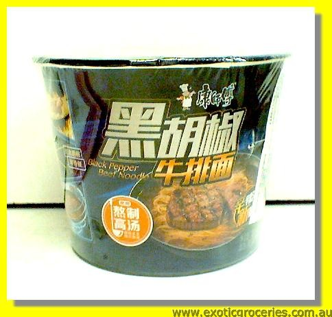 Black Pepper Beef Flavour Bowl Noodle