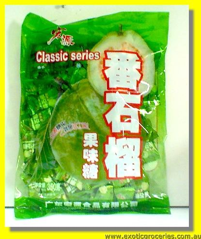 Guava Flavour Candy