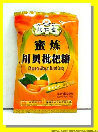 Chuan Pei & Loquat Throat Candy