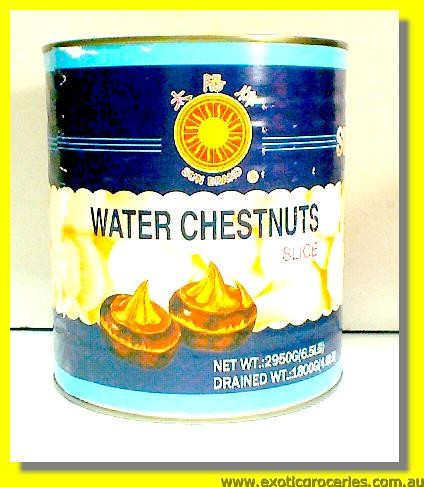 Water Chestnuts Slices
