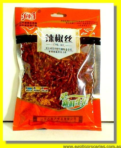 Dried Chilli Strips