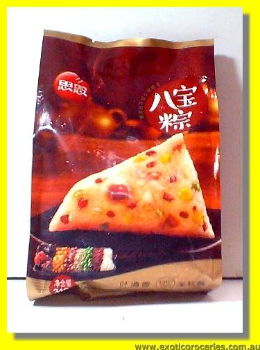 Frozen Rice Dumpling with Eight Nuts 5pcs