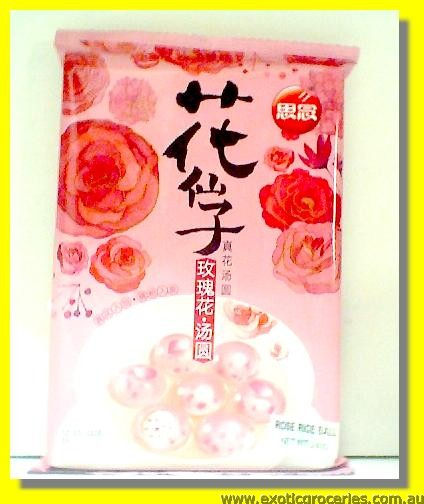 Frozen Rose Glutinous Rice Ball