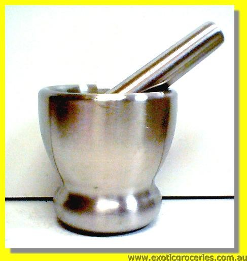 Steel Mortar & Pestle