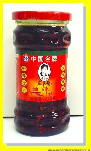 Chilli Oil with Peanuts