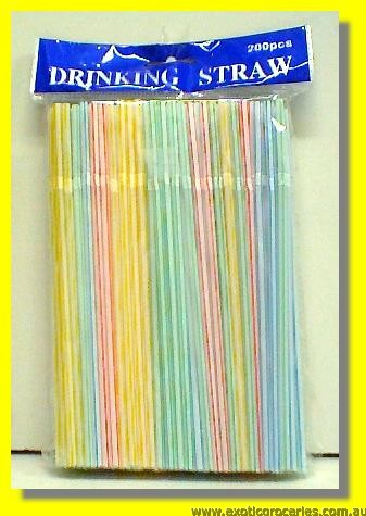 Drinking Straws 200pcs