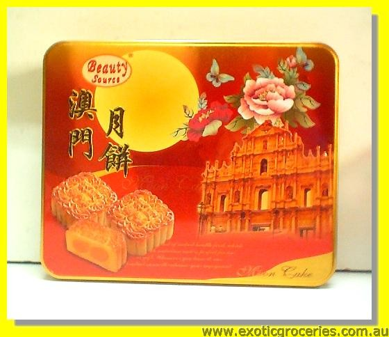 Lotus Paste Mooncake 1 Yolk 4pcs