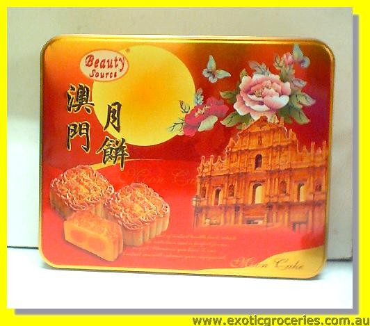 Combination Mooncake 1 Yolk 4pcs