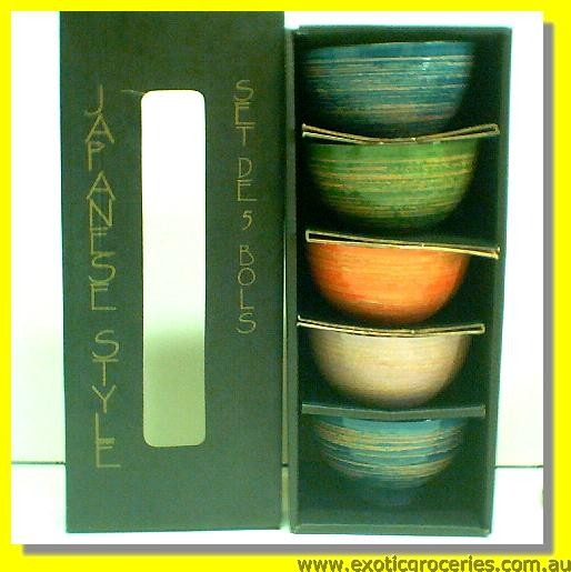 5pc. Bowl Set HC-20043800