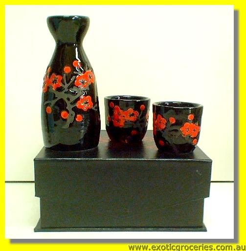 3pcs Sake Set AS123003