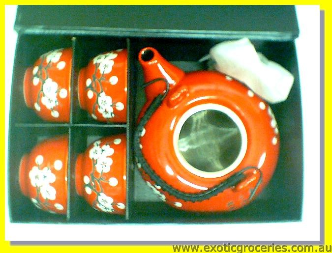 Japanese Style Tea Set 5pcs AA14441-R