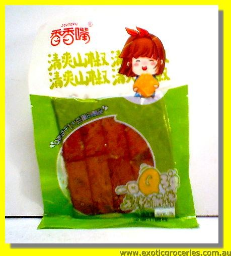 Beancurd Snack Pickled Pepper Flavour