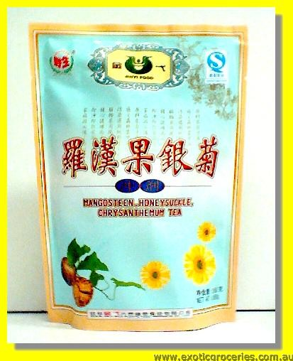 Mangosteen, Honeysuckle & Chrysanthemum Herbal Tea