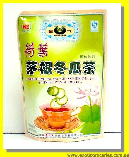 Lotus Leaf, Lalang Grass Rhizome & Chinese Waxgourd Herbal Tea