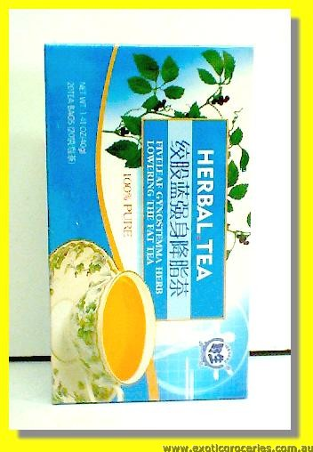Fiveleaf Gynostemma Herb Lowering The Fat Tea 20 teabags