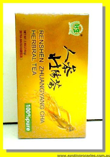 Renshen Zhuang Yang Cha Herbal Tea 20teabags