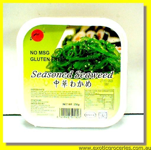 Frozen Seasoned Seaweed Chuka Wakame