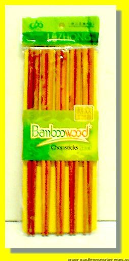 Red Wood Chopsticks 10pairs