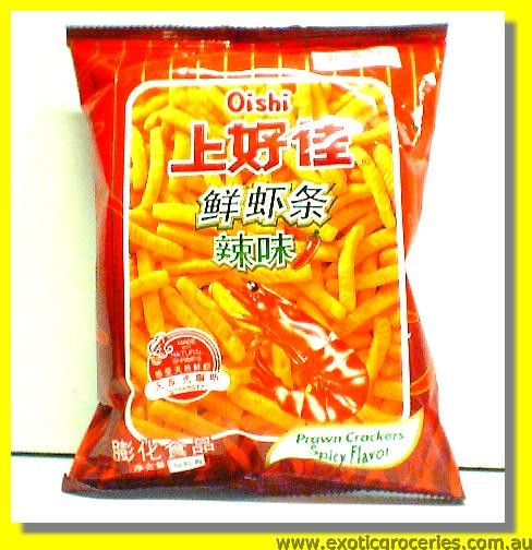 Prawn Crackers Spicy Flavor