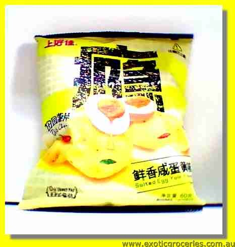 Potato Chips Salted Egg Yolk Flavour