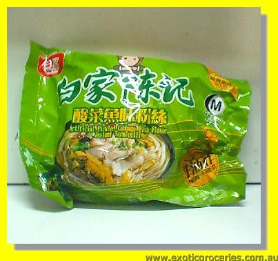 Pickled Cabbage Fish Flavour Instant Vermicelli
