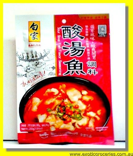 Sour Soup Fish Flavour Seasoning
