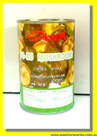 Po-Ku Mushrooms Whole
