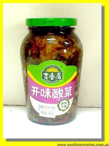 Chinese Sauerkraut Pickled Mustard