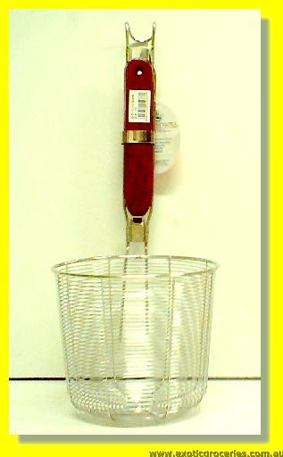 Stainless Steel Noodle Skimmer 5.25""