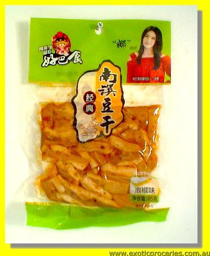 Dried Beancurd Pickled Chilli Pepper Flavour