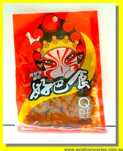 Dried Beancurd Sweet & Spicy Flavour with Fungus