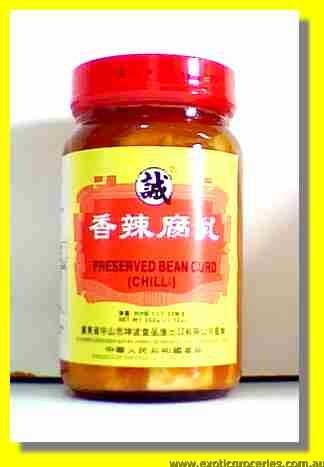Preserved Chilli Bean Curd