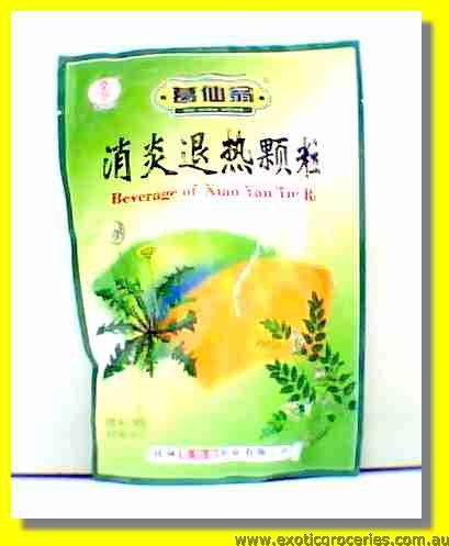 Beverage of Xiao Yan Tui Re
