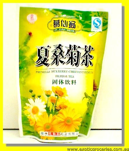 Prunella Mulberry & Chrysanthemum Herbal Tea 16sachets